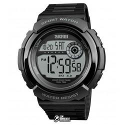Мужские цифровые кварцевые часы Skmei 1367, черные