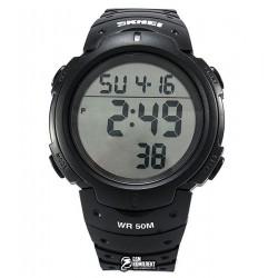 Мужские цифровые кварцевые часы Skmei 1068