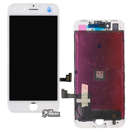 Дисплей iPhone 8, белый, с сенсорным экраном, original (PRC)