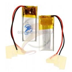 Аккумулятор универсальный, 23.5 мм, 10 мм, 4 мм, Li-ion 3.7 В, 160мАч, 041021P