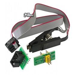 Адаптер прищепка для программатора, SOIC8, SOP8, EEPROM, BIOS