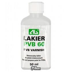 Изоляционный лак PVB-60 с кисточкой, 50 мл, CHE1633