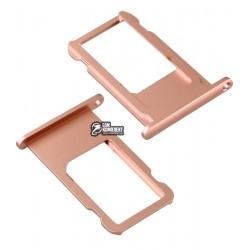 Держатель SIM-карты для Apple iPhone 6S Plus, розовый