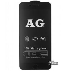 Закаленное защитное стекло для Apple iPhone 7 Plus, iPhone 8 Plus, 0,26 мм 9H, 2,5D, Full Glue, матовое