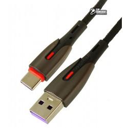 Кабель Type-C - USB, Joyroom S-M379 Fast charging 5.5A, черный