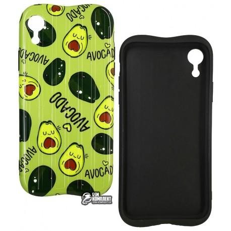 Чехол для iPhone X/Xs, Avacado Glossy case (TPU), силикон