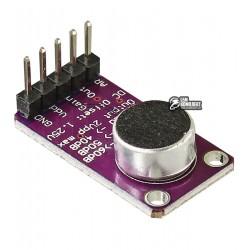 Микрофонный усилитель MAX9814 с АРУ и малошумящим смещением микрофона