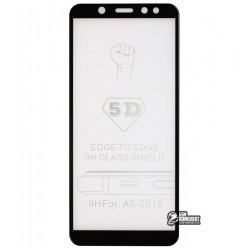 Закаленное защитное стекло для Samsung A600 Galaxy A6 2018, 3D Glass, 0,26 мм 9H,