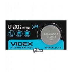 Батарейка CR2032 Videx на материнcкую плату литиевая