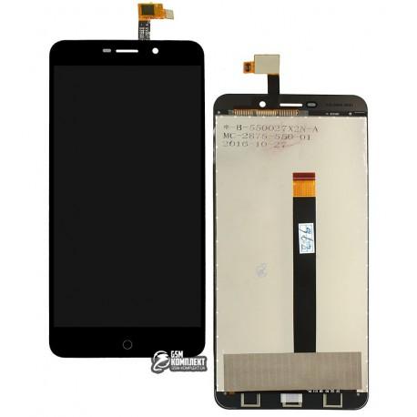 Дисплей для UMI Super, черный, с сенсорным экраном (дисплейный модуль)