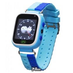 Детские Smart часы Baby Watch GM7S с GPS трекером, Синий