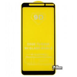 Закаленное защитное стекло для Nokia 3.1 Plus (2018), 0,33 мм, 2.5D, 9H, Full Glue, черное