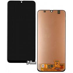 Дисплей для Samsung A305F/DS Galaxy A30, черный, с сенсорным экраном, Original (PRC), original glass