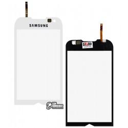 Сенсорный экран для Samsung I8000, копия, белый