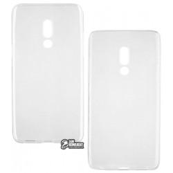 Чехол для Meizu 15 Plus, TOTO, силиконовый, прозрачный