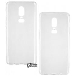 Чехол для OnePlus 6, Toto, силиконовый, прозрачный