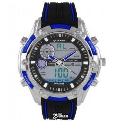 Мужские цифровые кварцевые часы Quamer 1313