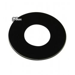 Стекло камеры LG Q6 M700, размер d 9,5 мм, черное