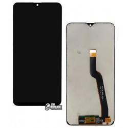 Дисплей для Samsung M105F/DS Galaxy M10, черный, с сенсорным экраном (дисплейный модуль), оригинал (переклеено стекло)