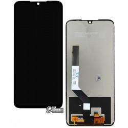 Дисплей для Xiaomi Redmi Note 7, черный, с сенсорным экраном (дисплейный модуль), High Copy