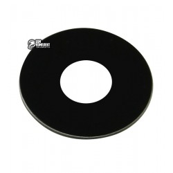 Стекло камеры для Meizu MX6, Pro 6, размер d 10,7 мм, черное