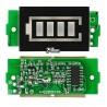 Индикатор уровня заряда батареи 18650 Li-ion, 4S 16,8V, зеленый