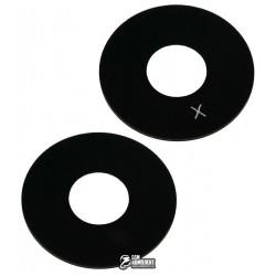 Стекло камеры для Meizu MX4, MX5, размер d 12,9 мм, черное