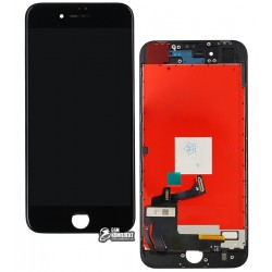 Дисплей iPhone 8, черный, с сенсорным экраном (дисплейный модуль), copy