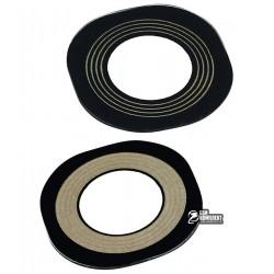 Стекло камеры LG G4 F500, G4 H810, G4 H811, G4 H815, G4 LS991, G4 VS986, размер 13,1x13,1 мм, черное