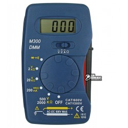 Мультиметр цифровой M300, карманный