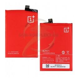 Аккумулятор BLP571 для OnePlus One, Li-Polymer, 4.35 В, 3000 мАч