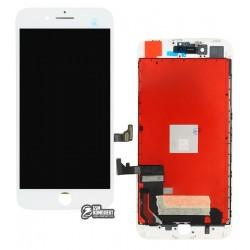Дисплей iPhone 8 Plus, белый, с сенсорным экраном (дисплейный модуль), original (PRC)