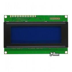 ЖК дисплей LCD2004, серый фон, контроллер HD44780