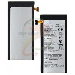 Аккумулятор для Alcatel One Touch 5056D, Li-ion, 4,35 В, 2500 мАч, TLp025C2