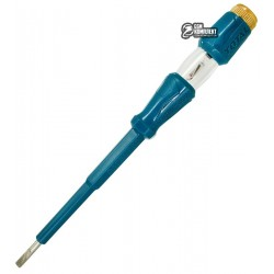 Отвертка TOTAL THT291908 тестер L=190мм, SL 4 мм.