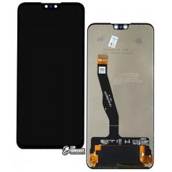 Дисплей Huawei Y9 (2019), черный, с сенсорным экраном (дисплейный модуль), Original (PRC), JKM-LX1