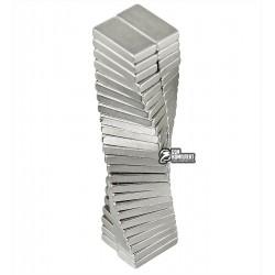Магнит неодимовый квадратный 10 x 5 x 2 мм