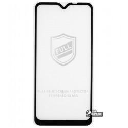 Закаленное защитное стекло для Samsung A107 Galaxy A10s (2019), 2.5D, Full Glue, черное