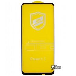 Закаленное защитное стекло для Huawei P Smart Z, 0,26 мм 9H, 4D ARC, черное