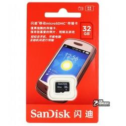 Карта памяти SanDisk MicroSD class 4 32GB