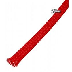 Защитная оплетка для проводов полиэфирная 10мм WPET, красная