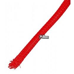 Защитная оплетка для проводов полиэфирная 8мм WPET, красная