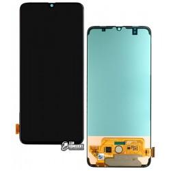 Дисплей для Samsung A705F/DS Galaxy A70, черный, с сенсорным экраном (дисплейный модуль), Original (PRC), original glass