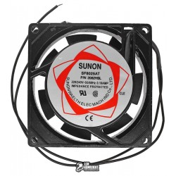 Вентилятор SUNON SF8025AT P/N 2082HSL, 80 x 80 x 25 мм, 220V, 0.10A