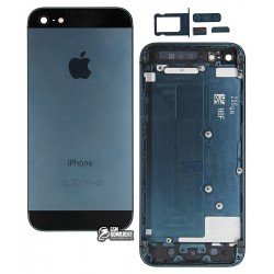 Корпус для Apple iPhone 5, high-copy, черный