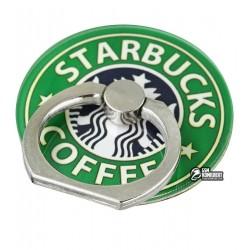 Кольцо-держатель для телефона, Starbucks, бирюзовый