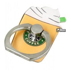 Кольцо-держатель для телефона, Cappuccino, Коричневый