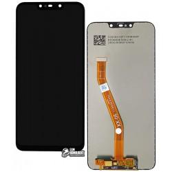 Дисплей для Huawei Nova 3i, P Smart Plus, черный, с тачскрином, оригинал (PRC), self-welded