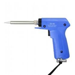 Паяльник-пистолет ZD-90, 40W(30-130W Max), 220V