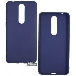 Чехол для Nokia 3.1 Plus Dual SIM, TOTO силиконовый, Navy Blue
